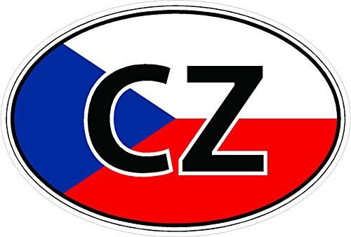 Czech Republic Flag Heart - 2