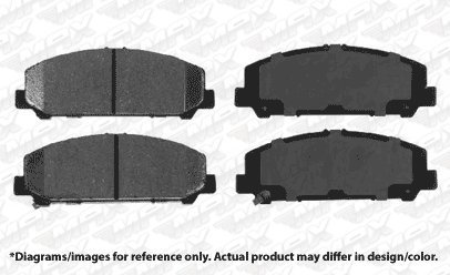 2011 11 2012 12 2013 13 Fits Nissan Titan Max Brakes Front Carbon Ceramic Performance Disc Brake Pads KT129351 Fits