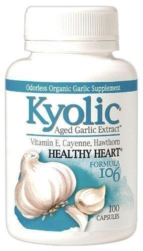 Kyolic #106 W/Vitamin E Cayenne 100 Cap