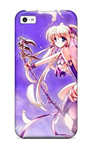 Iphone 5c Hard Back With Bumper Silicone Gel Tpu Case Cover Angel