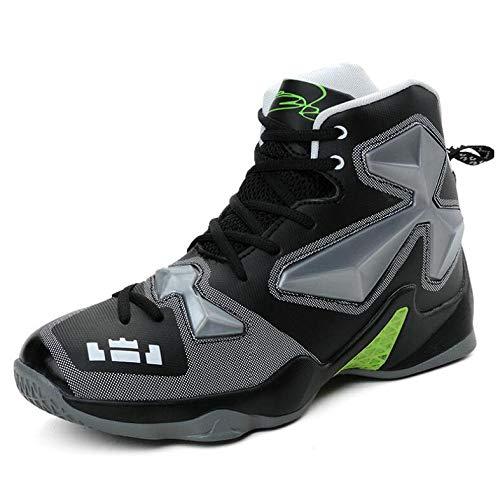 Black Ginnastica Up Casual Da Lace Basket Leggeri Scarpe Sneakers Uomo Traspirante High Atletici top Stivali Allenatori q4xS6XZ
