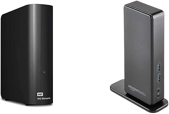Western Digital 6 Tb Elements Desktop Externe Computer Zubehör