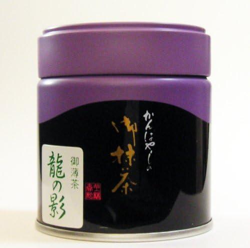 「 綾鷹 」で お馴染み ! 老舗 京都 上林春松本店 の お抹茶 御薄茶 「 龍の影 」( 40g 入) 【 Overseas Delivery 】