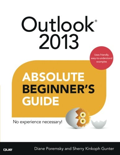 Outlook 2013 Absolute Beginner's Guide (Paperback)-cover