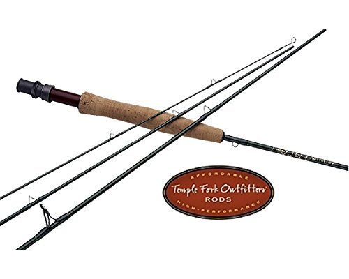 Temple Fork: Finesse Series Fly Rod, TF 04 79-4F by Temple Fork (Temple Fork Finesse)