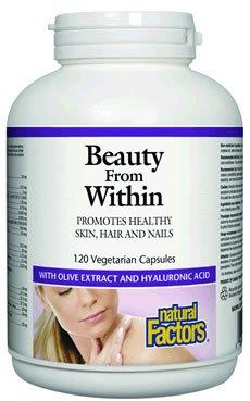 Natural Factors cheveux, peau et ongles Veg-Capsules, 120-Count