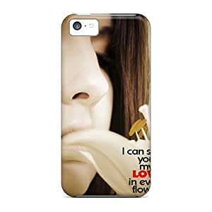 New Arrival Cover Case With Nice Design For Iphone 5c- I Can Smell Love