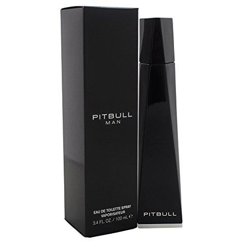 Pitbull Eau de Toilette Spray for Men, 3.4 Ounce (Cologne Men Pitbull)