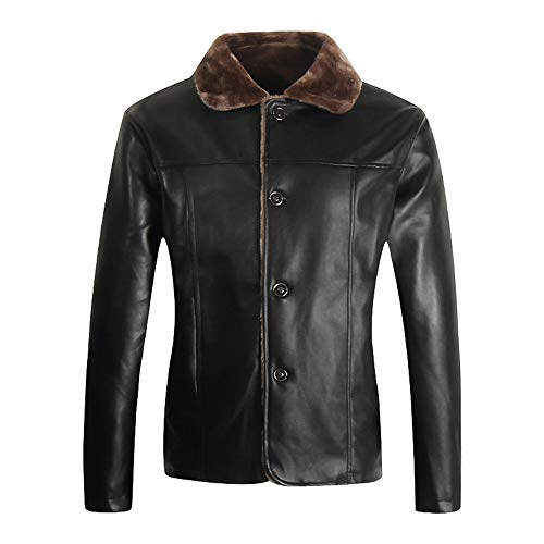 CUCUHAM Fashion Men's Autumn Winter Casual Pocket Button