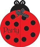 Ladybug Invitation by Shower My Baby