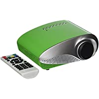 OEM K1 LED LCD (QVGA) Mini Video Projector - US Version (Includes Warranty) - Green (FP3224K1G)