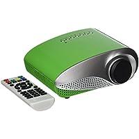 OEM K1 LED LCD (QVGA) Mini Video Projector - US Version (Includes Warranty) - Green (FP3224K1G)