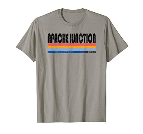 Vintage 70s 80s Style Apache Junction, Arizona - T-shirt Womens Arizona
