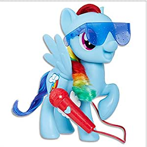 """My Little Pony - Singing Rainbow Dash - 8"""" Electronic Doll - Songs & Phrases - Interactive Kids Toys - Ages 3+"""