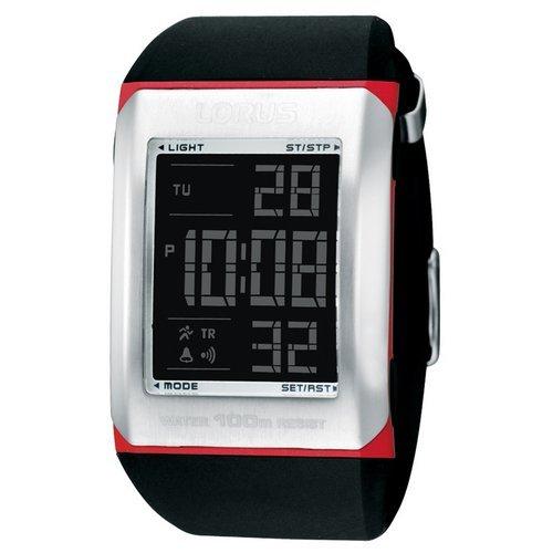 Lorus watches reloj para Hombre Digital de Cuarzo con brazalete de Goma R2361CX9: Amazon.es: Relojes
