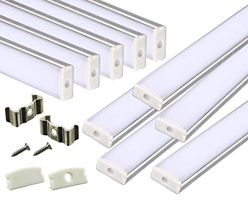 Aluminum Led Light Strip Housings