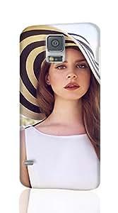SUUER Lana Del Rey ROUGH Skin 3D Case Cover for Samsung Galaxy S5 I9600 Regular