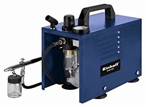 Einhell BT-AB 19/4 Kit - Compresor aerógrafo (90 W, 230 V)