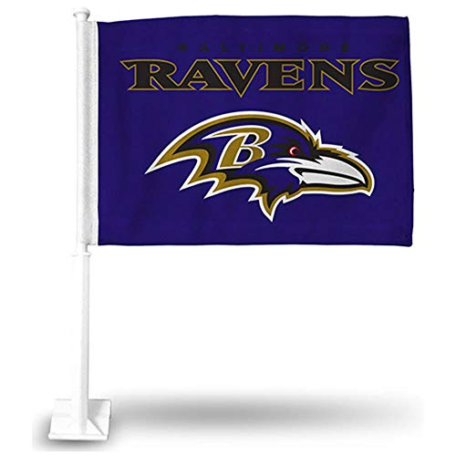 Rico Industries NFL Baltimore Ravens Car Flag