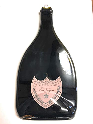 - Landfilldzine Dom Perignon Magnum Melted Bottle Cheese Serving Tray - Wine Gifts (1.5)