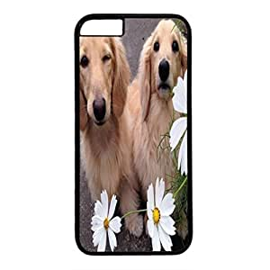 DIY iPhone 6 Case Cover Custom Phone Shell Skin For iPhone 6 With Twins Dogs 3
