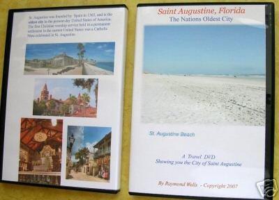 Amazon com: Saint Augustine Florida Travel Video on DVD