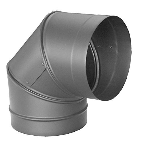 8 inch single wall stove pipe - 7