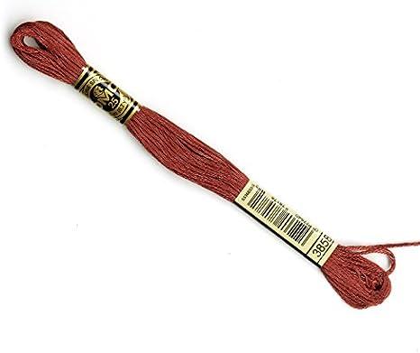 Medium Red DMC Floss