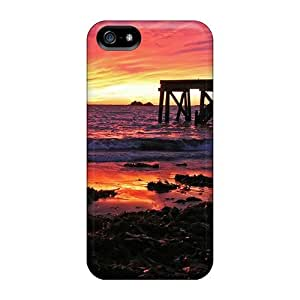 Top Quality Case Cover For Iphone 5/5s Case With Nice Sunrise At Horseshoe Bay Appearance