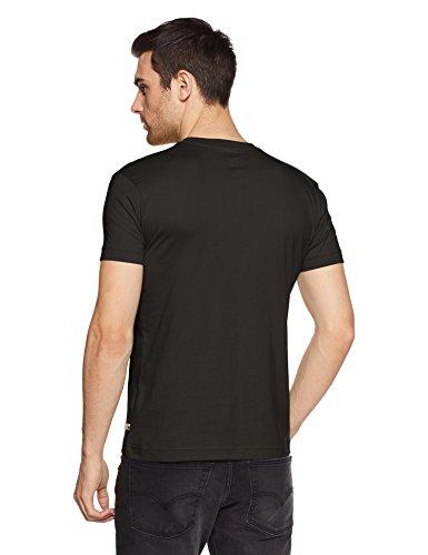 Jockey Mens Short Sleeves V Neck Slim Fit Solid T-Shirt Discounts Junction