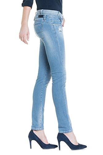 SALSA Jeans Amber con pierna pitillo y cintura doble
