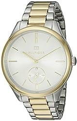 Tommy Hilfiger Women's 1781577 Analog Display Quartz Two Tone Watch