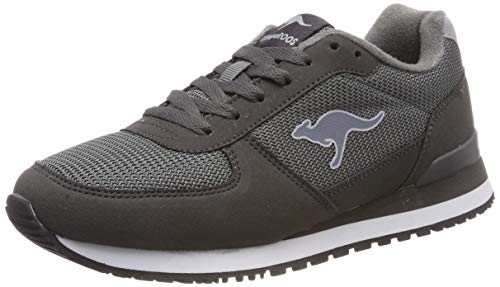 KangaROOS Unisex's Retro Racer Trainers, Grau (Steel for sale  Delivered anywhere in USA