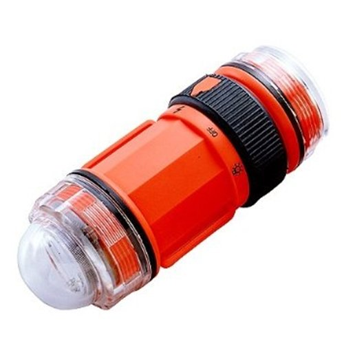 Trident Water Proof Scuba Diving Safety Strobe /& LED Light