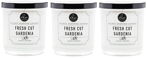 Dw Home Fresh Cut Gardenia Richly Scented Candle Small Single Wick 4 oz. (pac...