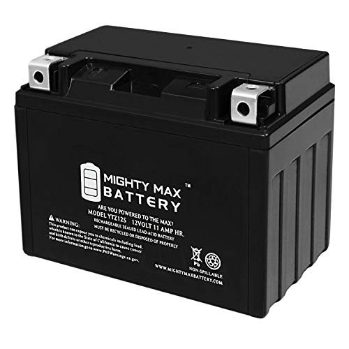 Mighty Max Battery YTZ12S 12V 11AH Battery for Honda 600 FSC600 Silver Wing 2002-2012 Brand Product ()