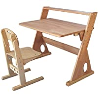 Childrens Wooden Adjustable Desk Piza