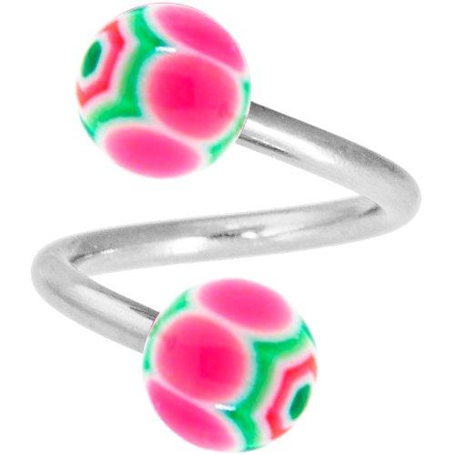 Ball Spiral Twister Ring - 8
