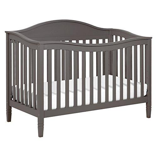 DaVinci Laurel 4-in-1 Convertible Crib in Slate Finish