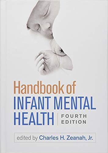 Handbook Of Infant Mental Health Fourth Edition 9781462537112