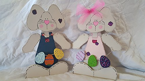 Lexi or Hopsalot Wooden Bunnies (Lexi Bunny)