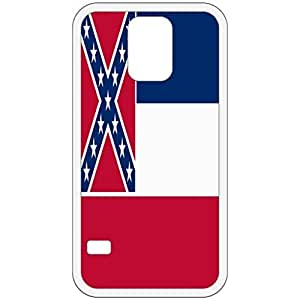 Mississippi MS State Flag White Samsung Galaxy S5 Cell Phone Case - Cover
