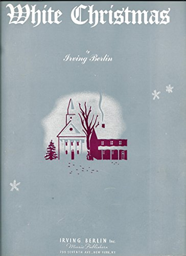 (White Christmas Piano Solo by Irving Berlin (Sheet Music))