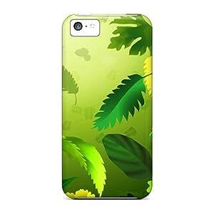 meilz aiaiCute Appearance Covers/NYh5523jTUl Green Leafs Cases For iphone 5/5smeilz aiai