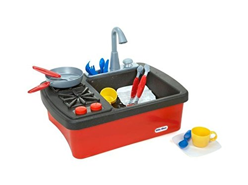 Sink Play (Little Tikes Splish Splash Sink & Stove)
