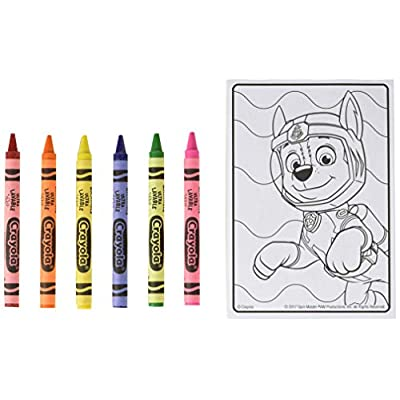 Crayola Paw Patrol Coloring Kit, Travel Activity, Gift for Kids, Ages 3, 4, 5, 6: Arts, Crafts & Sewing