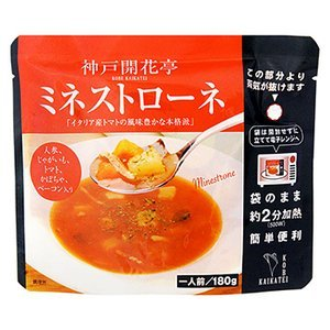 Retort prepared foods Kobe Kaikatei minestrone 180g X10 bag set (range simple cooking side dish) by Kobe Kaikatei