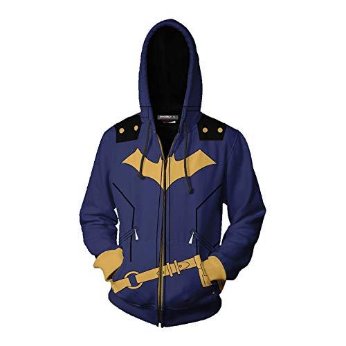 HPY Cosplay Hoodie Costume Sweatshirt BG Coat Jacket Barbara Christmas Halloween 2XL -