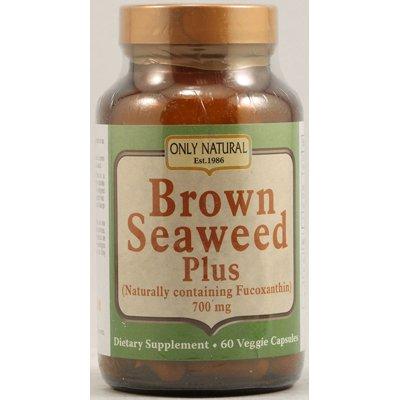 Natural Brown Seaweed (Only Natural Brown Seaweed Plus - 700 Mg - 60 Vegetarian Capsules)