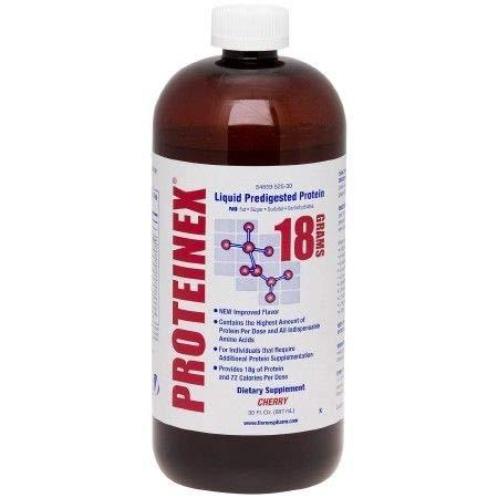 Proteinex Liquid Protein - Proteinex 18 Liquid Protein 30 oz Bottle, Cherry *New* *Super Saver*
